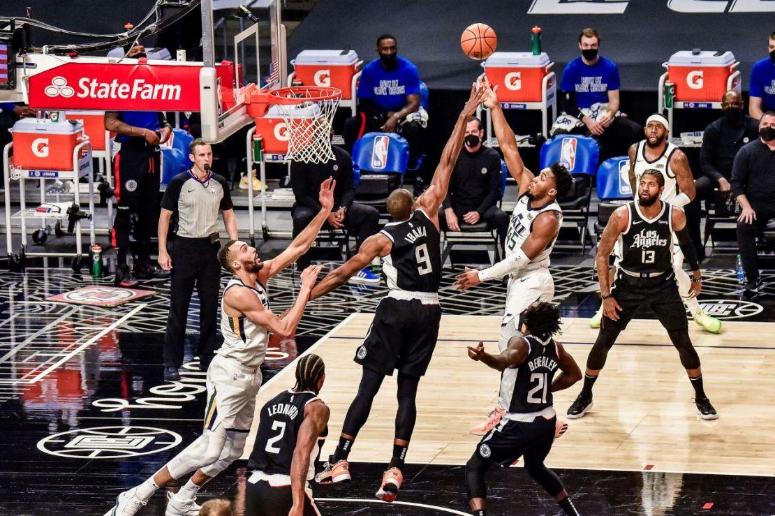 Utah Jazz guard Donovan Mitchell