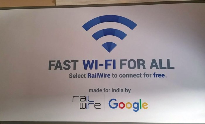 Google brings free Wi-Fi to 400 India train stations, reaches 8 million users