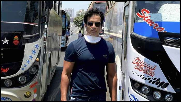 Sonu Sood arranges buses for migrant workers to travel from Mumbai