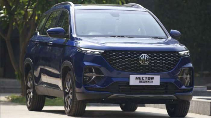 MG Motor launches MPV Hector Plus in India