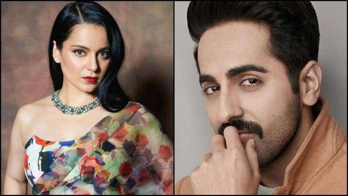 Kangana Ranaut calls Ayushmann Khurrana 'mediocre', 'chaploos outsider'