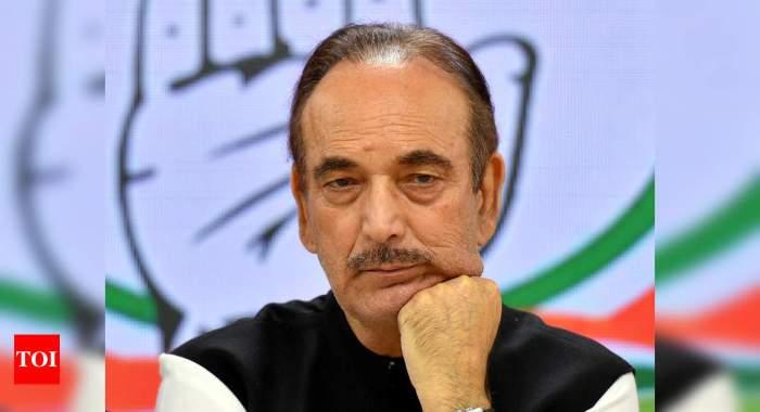 Congress drops Ghulam Nabi Azad as general secretary; forms 6-member panel to assist Sonia Gandhi   India News