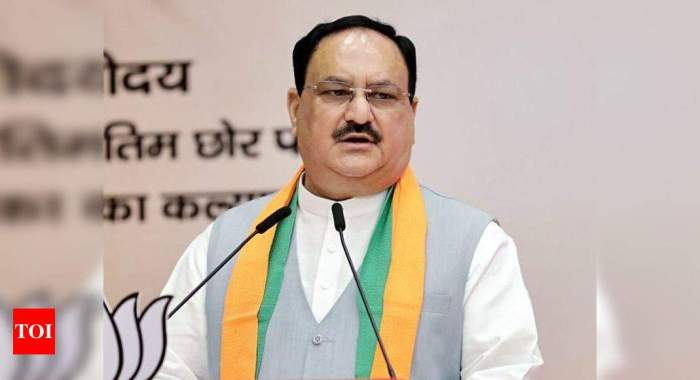 Nadda announces new team of BJP's national office-bearers | India News