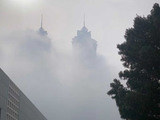 UAE weather: Foggy morning in Abu Dhabi, Al Ain, Dubai and Umm Al Quwain, increase in temperatures during the day