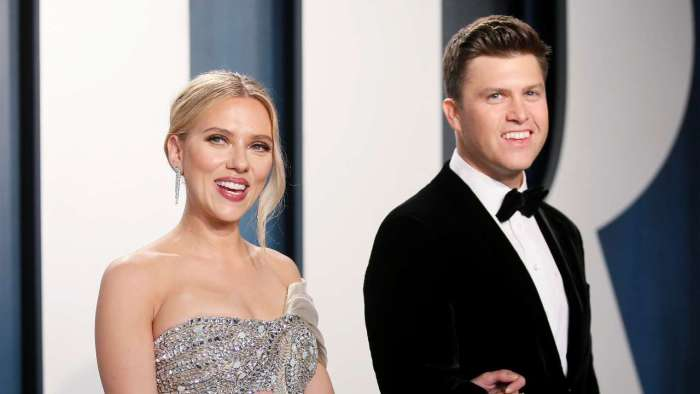 'Black Widow' actor Scarlett Johansson ties knot with SNL star Colin Jost in intimate ceremony