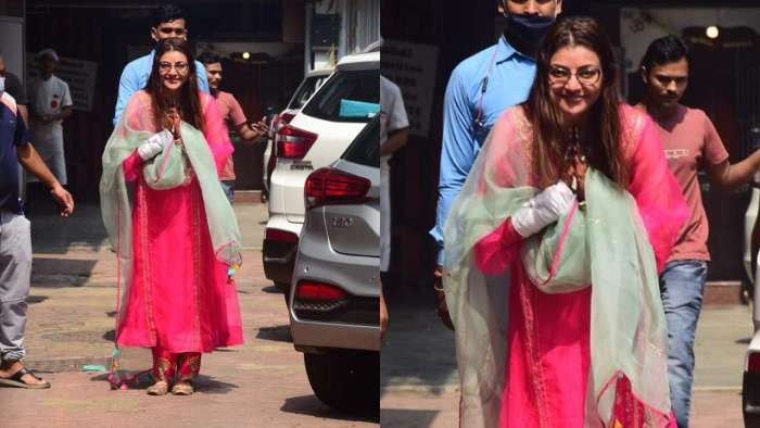 Bride-to-be makes an appearance, looks pretty in pink attire