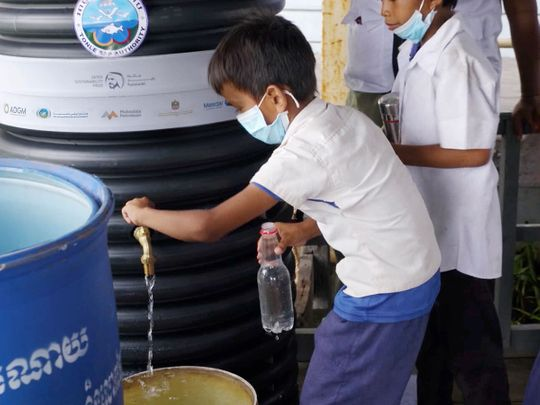 Cambodian villages to get clean water under UAE humanitarian project