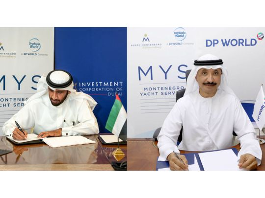 Dubai's Drydocks World to be part of super-yacht marina project in Montenegro