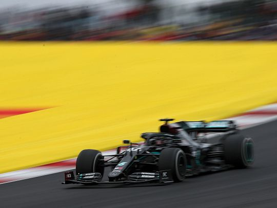 Formula One: Lewis Hamilton wins in Portugal to become all-time F1 winner