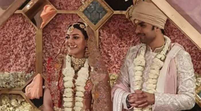 Kajal Aggarwal looks stunning as a bride; see pics