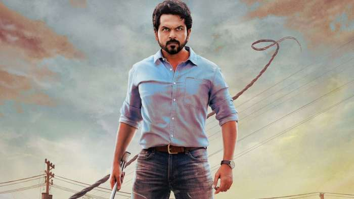 Karthi picks up hunter for 'Sulthan' first look