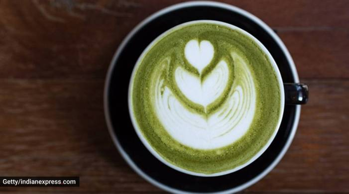 Love matcha? Kick-start your day with this tasty smoothie