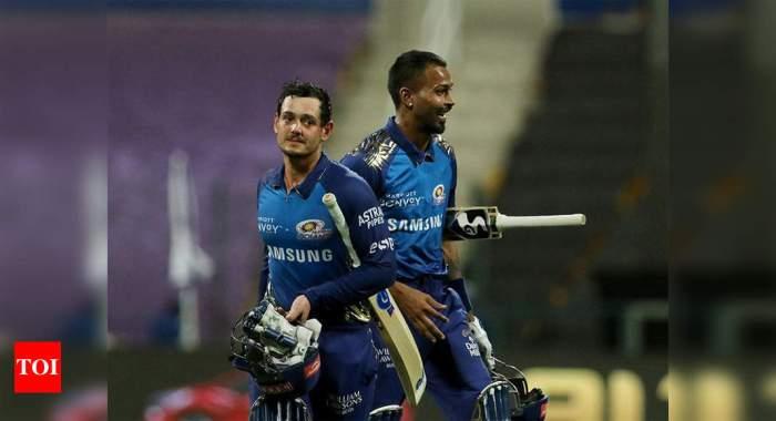 MI vs KKR: Mumbai Indians crush Kolkata Knight Riders by 8 wickets, claim fifth straight win | Cricket News