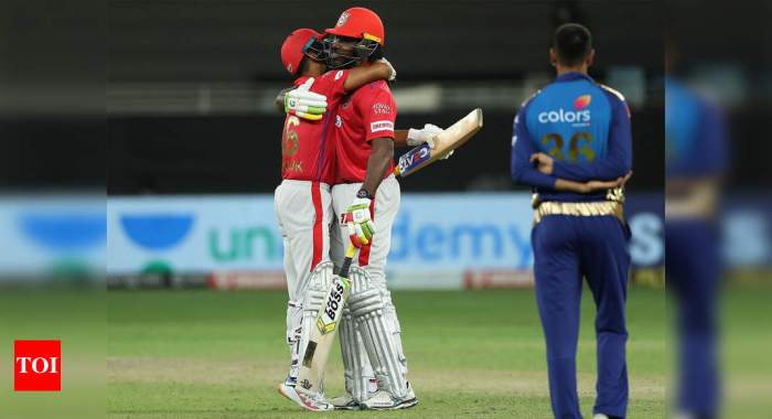 MI vs KXIP: Kings XI Punjab trump Mumbai Indians in second Super Over in dramatic IPL game | Cricket News