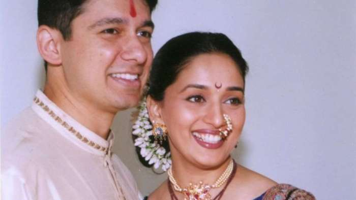 Madhuri Dixit-Nene shares then-and-now picture with husband Ram on their wedding anniversary