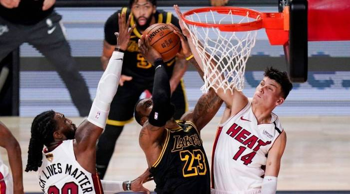 NBA Finals: Miami Heat force Game 6, top Los Angeles Lakers to stave off elimination