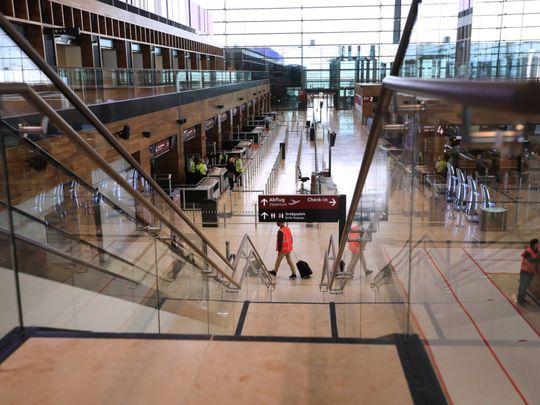 Pictures: Berlin's ill-fated new Berlin-Brandenburg-Airport finally ready for take-off