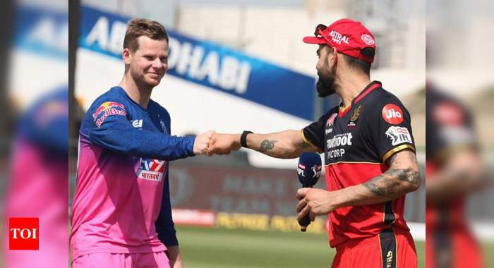 RR vs RCB Live Score: Rajasthan Royals win toss, opt to bat against Royal Challengers Bangalore | Cricket News