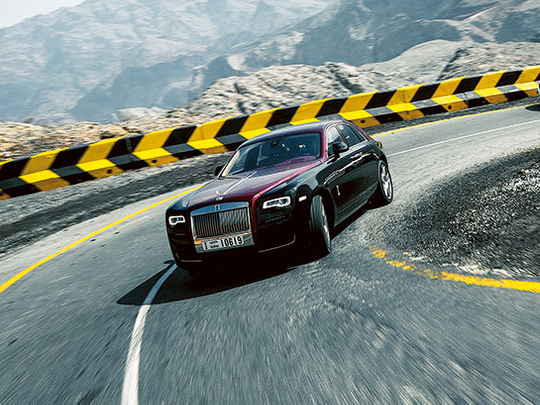 Rolls-Royce's newest Ghost perfects sound of silence