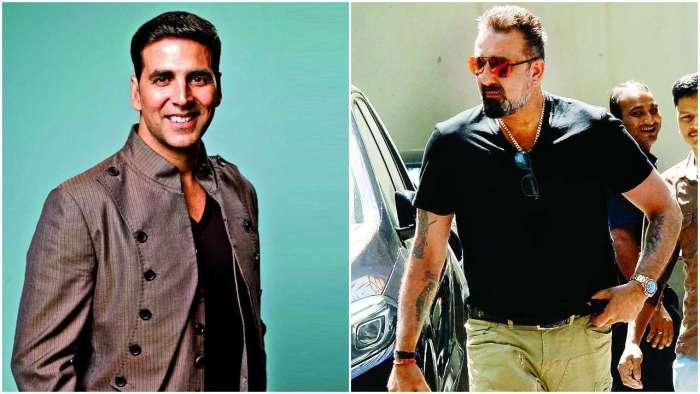 Sanjay Dutt looks forward to seeing Akshay Kumar on 'Prithviraj' sets; see their heartwarming exchange of words
