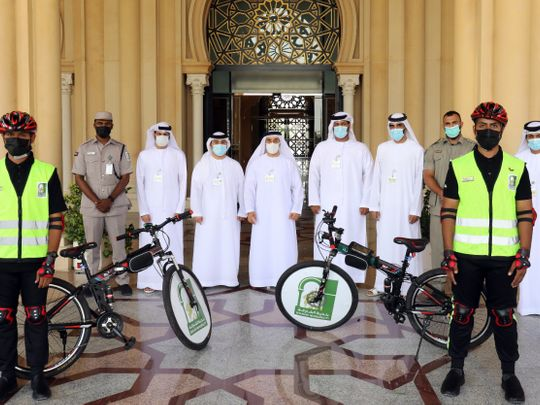 Sharjah Municipality launches bicycle patrols on beaches