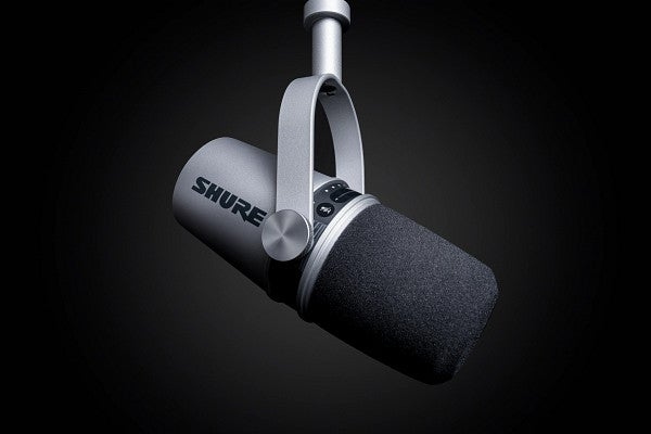 Shure's new MV7 microphone is tailor-made for bedroom podcasts