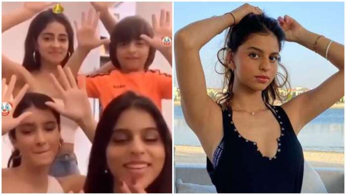 Suhana Khan wishes BFF Ananya Panday on her birthday with throwback video feat AbRam Khan