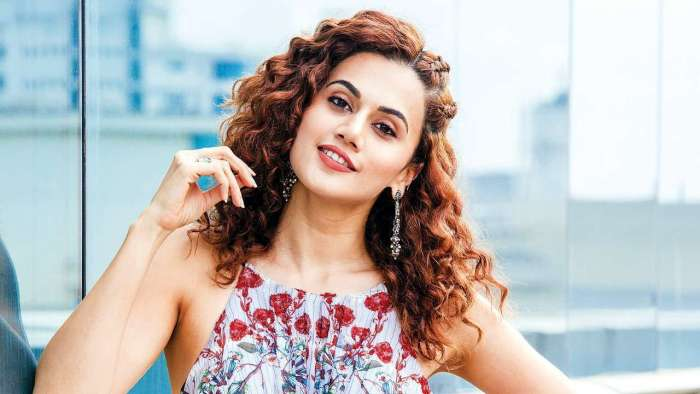 Taapsee Pannu 'rings out the bad times' in Maldives; see pic