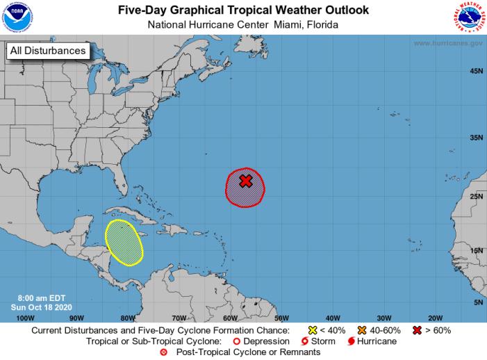 Tropical Depression Expected Off Florida's Coast By Tuesday – BocaNewsNow.com