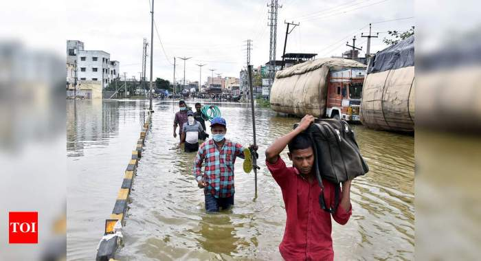 Two days after heavy rains, Hyderabad limps back to normalcy; relief operations under way | Hyderabad News