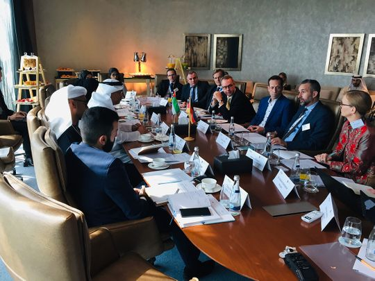 UAE-Germany form joint task force to explore the potential of 4IR