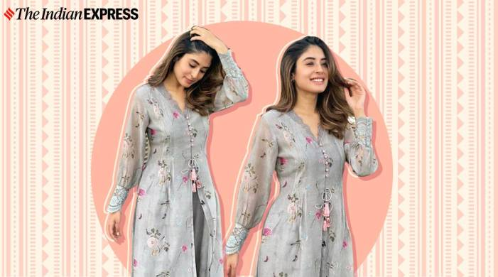 We need Kritika Kamra's latest outfit in our wardrobe for Navratri Day 1; check it out here
