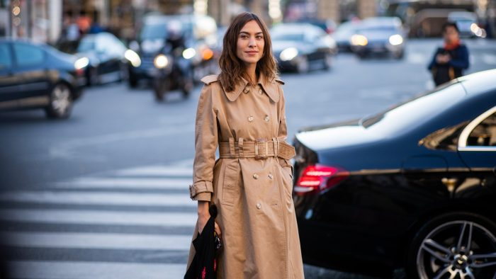 22 Bold-Faced Names Who Have Embraced A Trench Coat With Ease