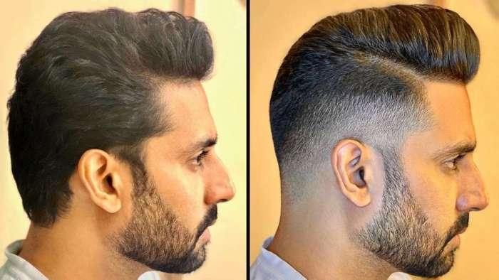 Abhishek Bachchan's 'razor-sharp fade with quiff' hairdo makes him look dapper as ever