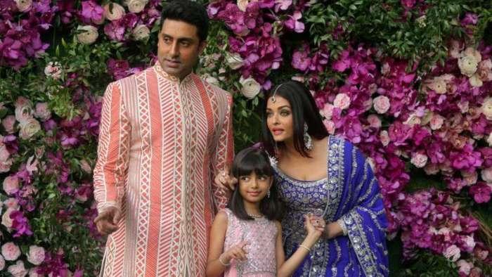 Aishwarya Rai Bachchan-Abhishek Bachchan pose for cute selfies with birthday girl Aaradhya Bachchan
