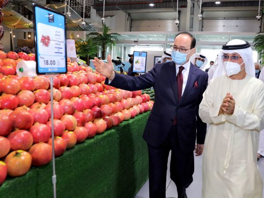Dubai's Fresh Market opens first-ever display of Israeli produce including fruit and vegetables
