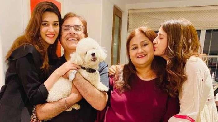 Kriti Sanon-Nupur Sanon wish parents on wedding anniversary with sweet nostalgic posts