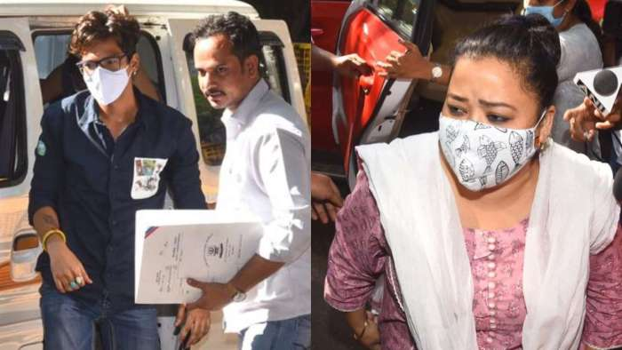 NCB arrests comedian Bharti Singh's husband Haarsh Limbachiyaa in drugs case