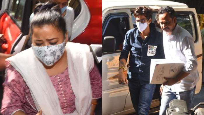 NCB arrests comedienne Bharti Singh after confession, recovery of 'ganja'