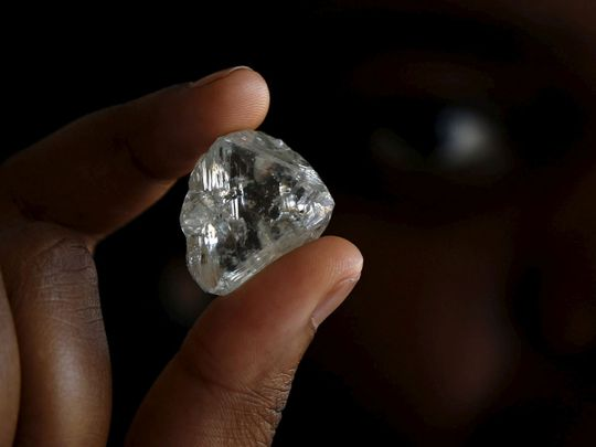 One of the largest diamonds in the world discovered