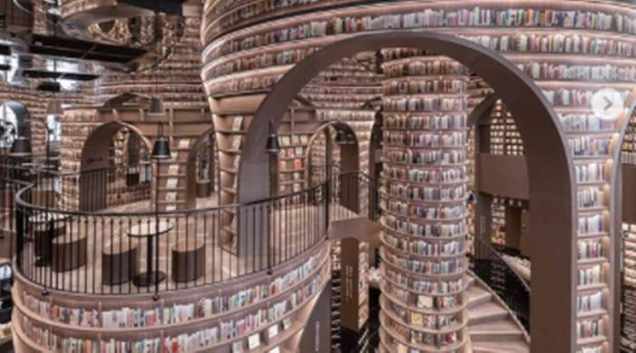 This bookstore in China looks heavily inspired by the Harry Potter world; check it out