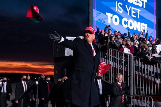 Trump campaign's challenge of election results in Pennsylvania, Michigan and Arizona push US toward 'loss of democracy'