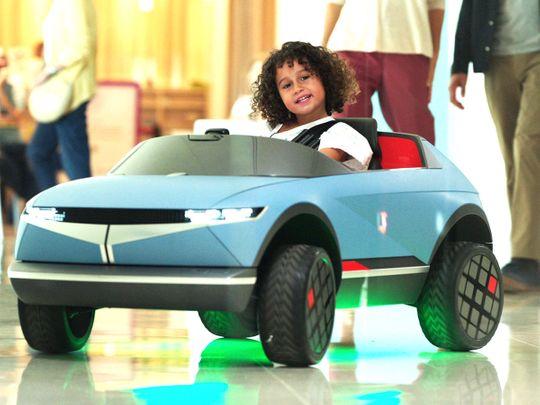 See how Hyundai's AI-powered mini EV helps children
