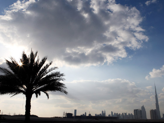 UAE: Partly cloudy weather, dusty at times, overcast skies in Ras Al Khaimah and Fujairah