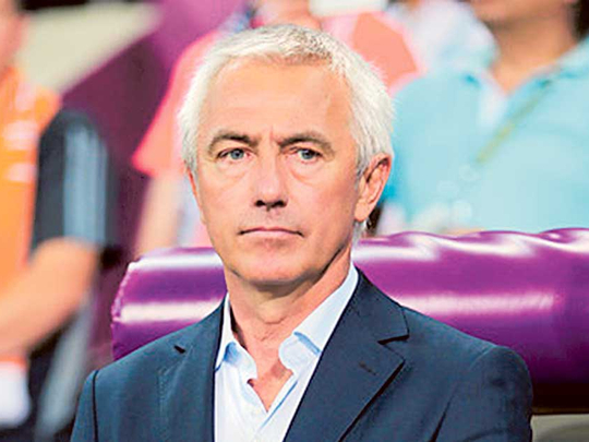 UAE coach Bert Van Marwijk sets sights on Qatar 2020 World Cup