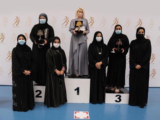 Ukraine's Suleimanova triumphs in Sheikha Fatima Blitz Chess Tournament