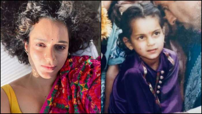 Kangana Ranaut wishes 'Happy Lohri 2021' with her childhood photos and anecdote