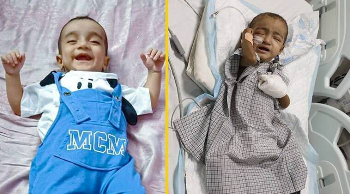 The next 20 days of ICU care will decide baby Musab's fate against a deadly disease
