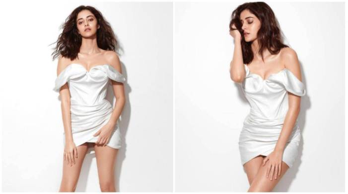 Ananya Panday nails this short white dress; check pics