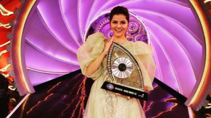 'Bigg Boss 14' winner Rubina Dilaik describes victory as 'most beautiful thing that can ever happen'